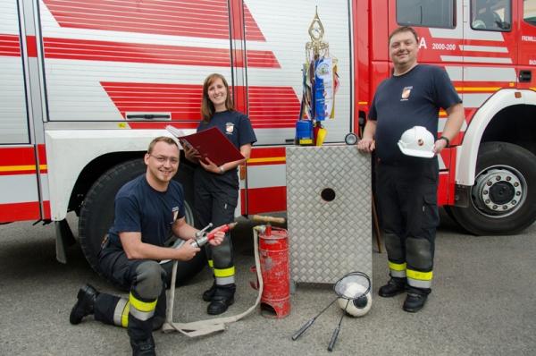 Feuerwehrjugend - Sachgebiet - Freiwiliige Feuerwehr Baden-Stadt